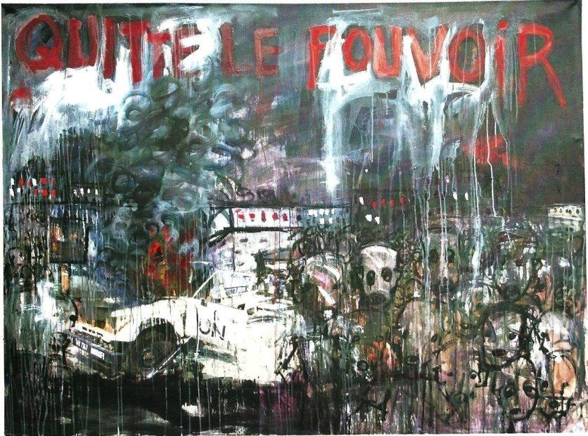 <em>'Quitte le pouvoir'</em>, 2011