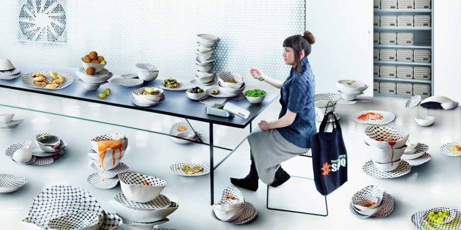 Larissa Sansour, Food, 2012