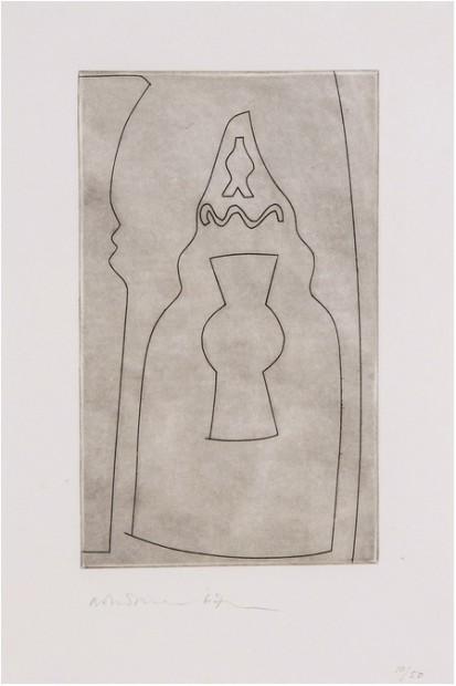 Curled Turkish Form (C.133), 1967
