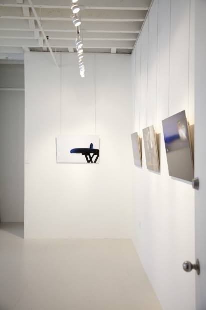 Installation view, Sandra Elkind: Flat Pennies & Other Tales at 571 Projects, NYC