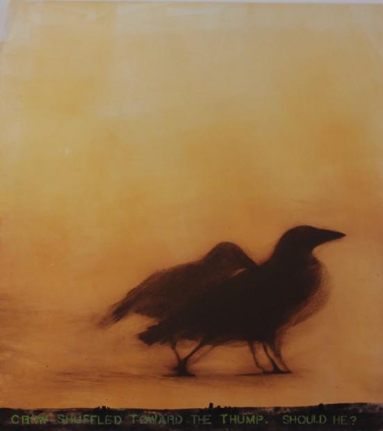 Malcolm Moran, Crow Shuffles Toward the Thump
