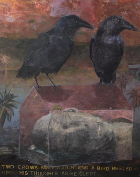 Malcolm Moran, Two Crows Kept Watch