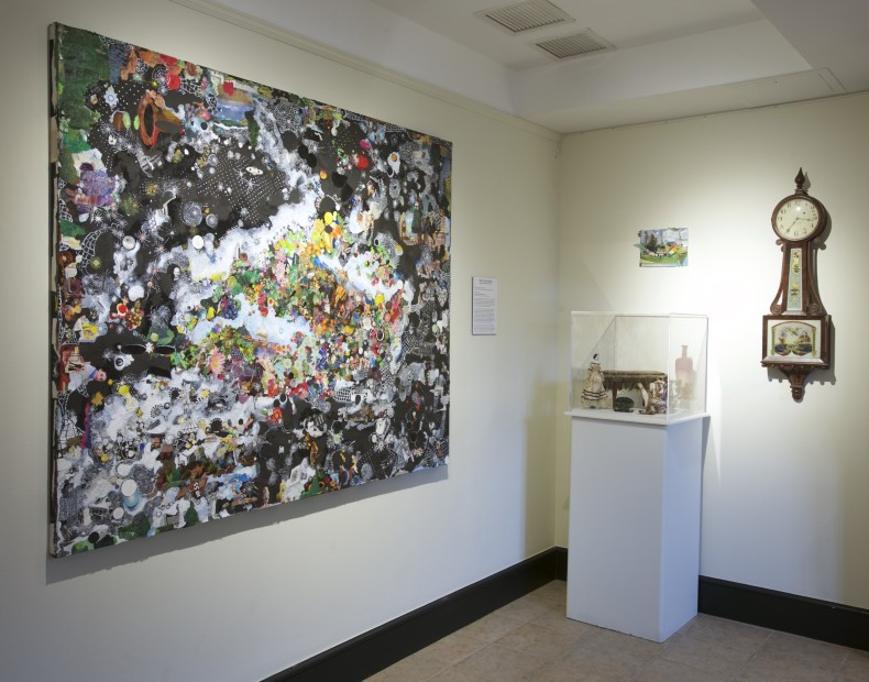 Installation View, Sally Gil: Out of This World, at The Bennington Museum
