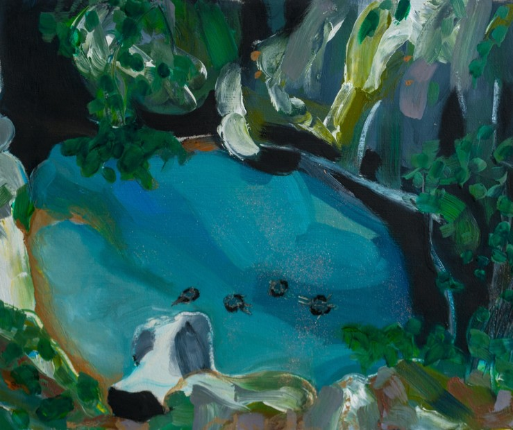 Melora Griffis, vacation cave, 2017