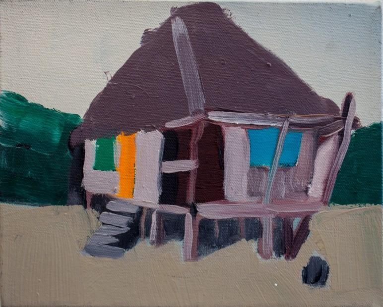 Melora Griffis, beach hut /1, 2016