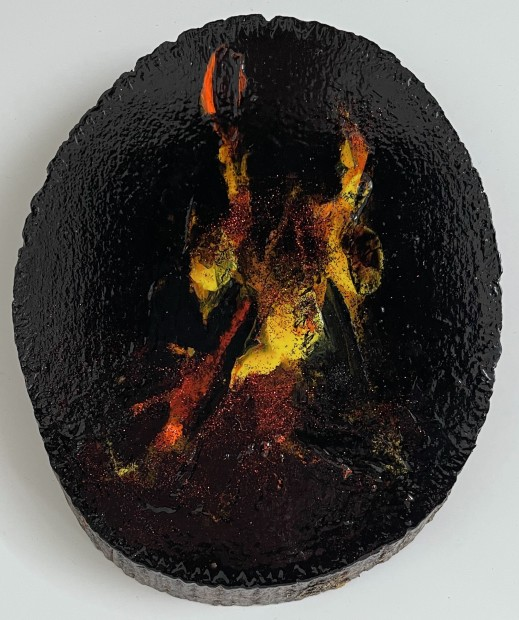 Melora Griffis, fire, 2021