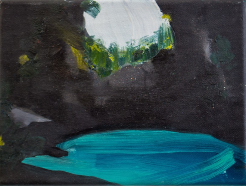 Melora Griffis, empty cave, 2017