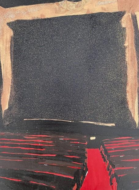 Melora Griffis, dark stage, 2021
