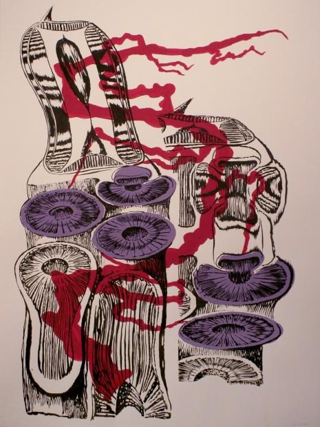 Brian Fekete, Cuttlefish Stretch No.3, 2009