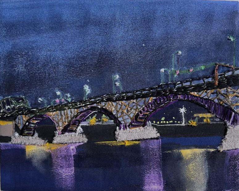 Melora Griffis, peace bridge pm 2, 2021
