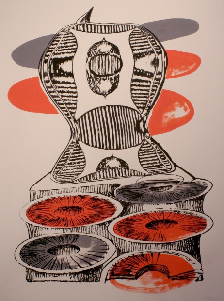 Brian Fekete, Cuttlefish Stretch No.2, 2009