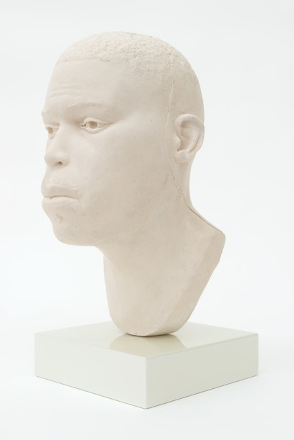 THOMAS J PRICE, Head 16, 2017, acrylic composite, Perspex and automotive spray paint, 19.2 x 8.5 x 12 cm, 7 1/2 x 3 3/8 x 4 3/4 in, Edition of 5 plus 1 artist's proof