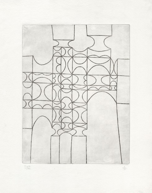 <div class=&#34;artist&#34;><strong>Anwar Jalal Shemza</strong></div><div class=&#34;title&#34;><em>City Gate</em>, 1961</div><div class=&#34;medium&#34;>intaglio (etching)</div><div class=&#34;dimensions&#34;>56.5 x 43.8 cm<br />22 1/4 x 17 1/4 in</div>