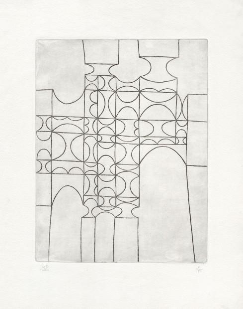 <div class=&#34;artist&#34;><strong>Anwar Jalal Shemza</strong></div><div class=&#34;title&#34;><em>City Gate</em>, 1961</div><div class=&#34;medium&#34;>intaglio (etching)</div><div class=&#34;dimensions&#34;>56.5 x 43.8 cm<br />22 1/4 x 17 1/4 in</div>