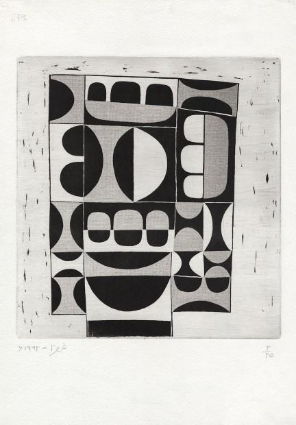<div class=&#34;artist&#34;><strong>Anwar Jalal Shemza</strong></div><div class=&#34;title&#34;><em>The Gate Version B</em>, 1970</div><div class=&#34;medium&#34;>aquatint</div><div class=&#34;dimensions&#34;>44.5 x 31.3 cm<br />17 1/2 x 12 3/8 in</div>