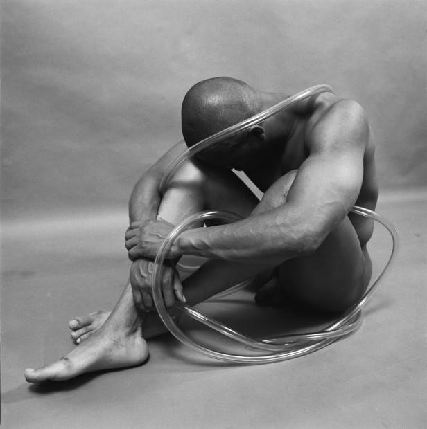 Rotimi Fani-Kayode Abiku (Born to Die), 1988 Gelatin silver print Unframed/image size: 25.1 x 25.2 cm 9 7/8 x 9 15/16 in Edition of 5 plus 1 PP (R_FK0025)