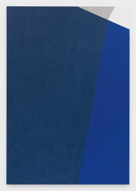Virginia Jaramillo, Site: No. 12 38.4824° N, 22.5010° E, 2018 Acrylic on canvas, 198.1 x 137.2 cm, 78 x 54 in