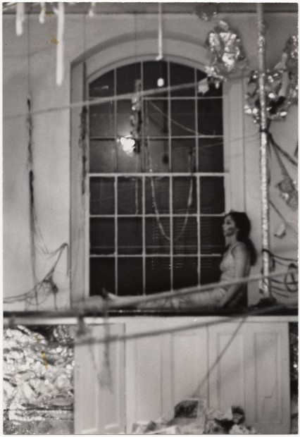 Water Light/Water Needle, 1966, gelatin silver print on board, 24.13 x 16.51 cm
