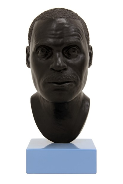 <p>Tom Price, <i>Head 13</i>, 2012 , bronze, Perspex and spray paint, 21 x 9 x 11 cm, 8 1/4 x 3 1/2 x 4 3/8 in, edition of 3 plus 1 artist's proofs</p>