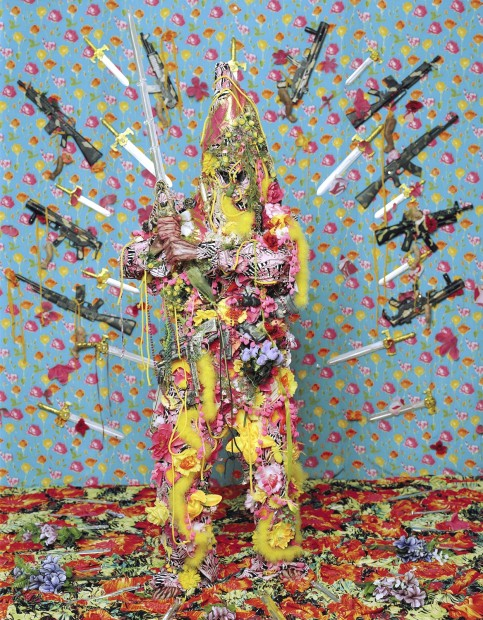Hew Locke, Chevalier, 2007 - 2014, c-type print, 227 x 177 cm