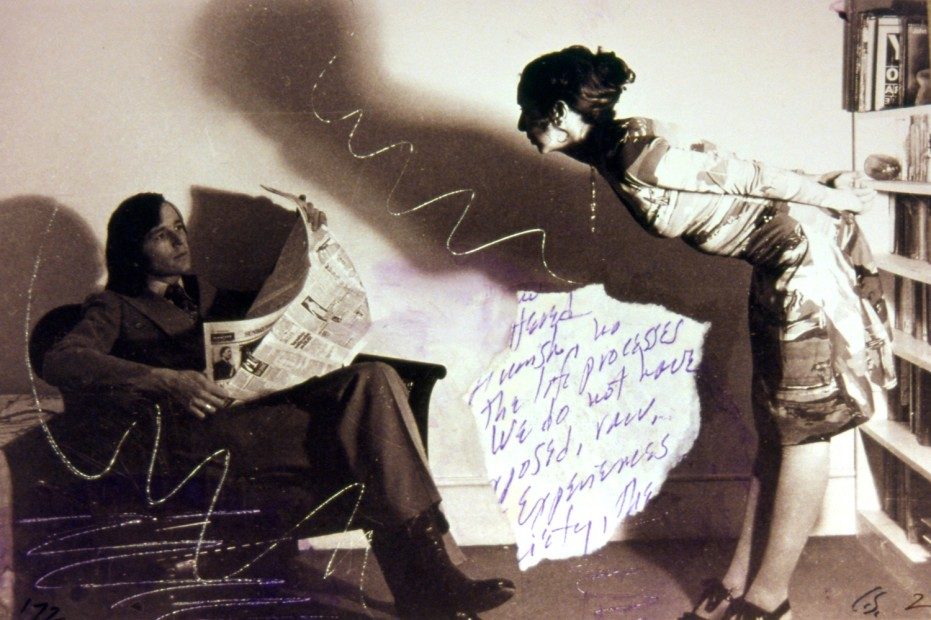 <p>Carolee Schneemann, <em>Aggression For Couples (detail)</em>, 1972,&#160;<span>Gelatin silver prints with hand-coloring and collage,&#160;</span><span>15 x 14 3/4 inches, Image c</span><span>ourtesy of the artist.</span></p>