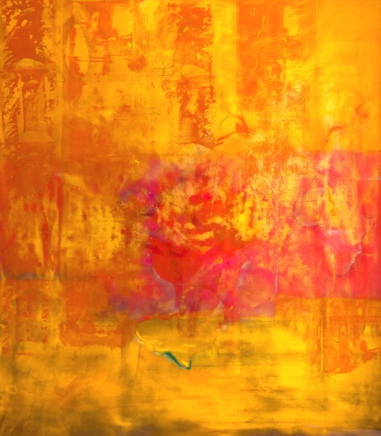 <p><strong>FRANK BOWLING</strong></p><p><em>Middle Passage</em>, 1970</p><p>Acrylic on canvas</p><p>321 x 281 cm</p><p>126 3/8 x 110 5/8 in</p>