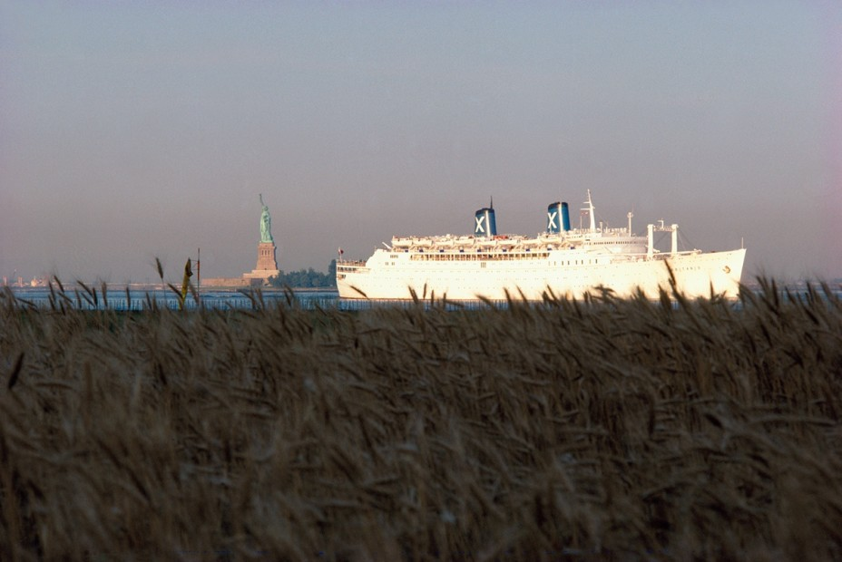 <p>Agnes Denes,&#160;<i>Wheatfield &#8211; A Confrontation: Battery Park Landfill, Downtown Manhattan &#8211; Ocean Liner Passing Wheatfield on the Hudson</i><span>, 1982,&#160;Courtesy Leslie Tonkonow Artworks + Projects, New York</span></p>