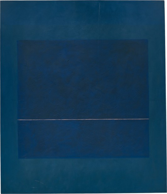Virginia Jaramillo, Untitled, 1974, oil paint on canvas, 208.3 x 177.8 cm, 82 x 70 in