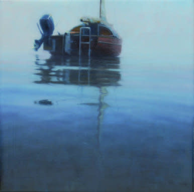 Boat II, 2007, Oil on canvas, 30 x 30 cm
