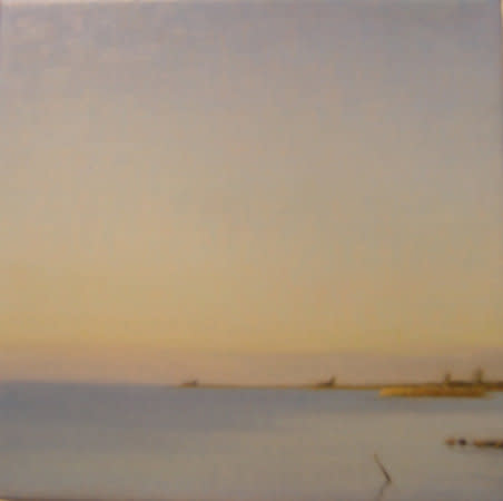 Seascape (Kidholm) III, 2007, Oil on canvas, 30 x 30 cm
