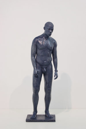 Tom Price. Corrance Road Figure 1, 2008. Bronze sculpture 60x18x17cm