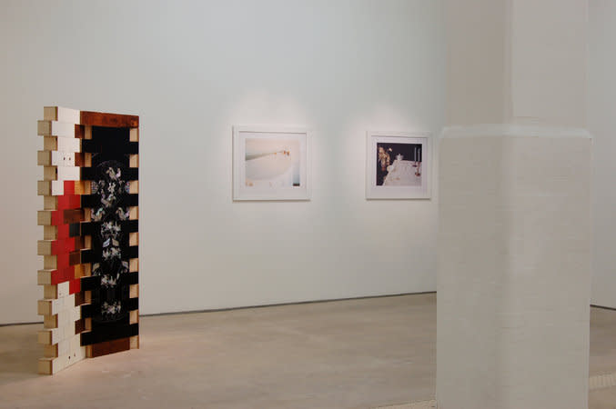 Interior installation view