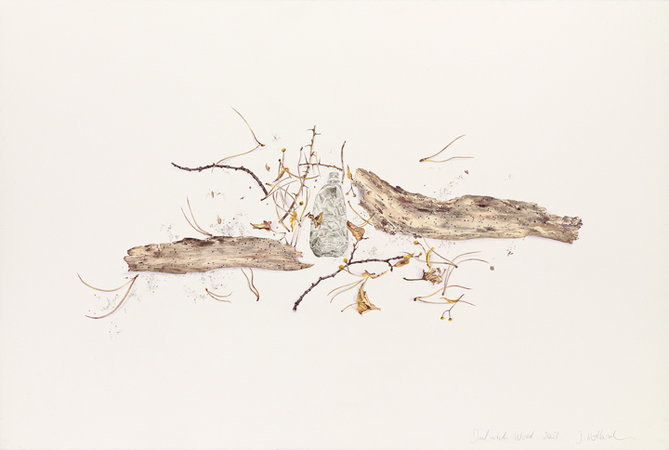 Dulwich Wood, 2007, watercolour on arches paper, 113 x 163 cms