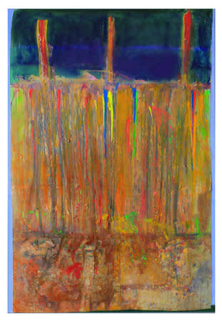 Iona's Prompt, 2011, Acrylic on canvas, 281.9 x 190.5 cm