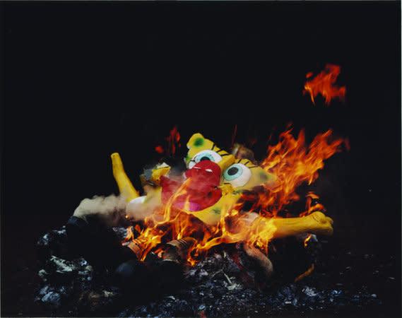 Bob' Burnt at dusk, 2007, C-type print, 84 x 106 cm