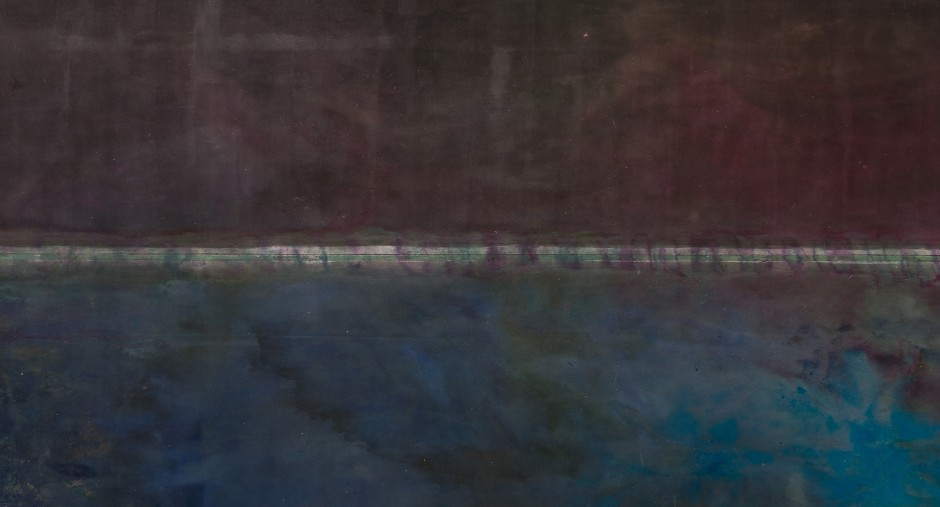 FRANK BOWLING, For Edvins, 1972 - 73, acrylic on canvas, approx 274 x 485 cm