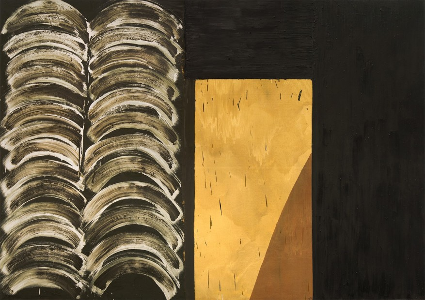 Basil Beattie Another Place, 1995 oil and wax on canvas 259 x 265 cm 102 x 104 3/8 in