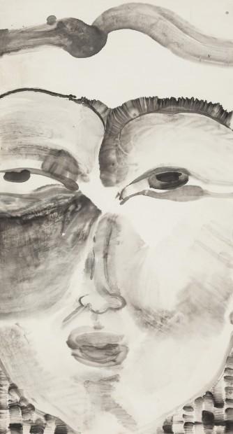 Li Jin 李津, Head: Smile 头像系列:微笑, 1996