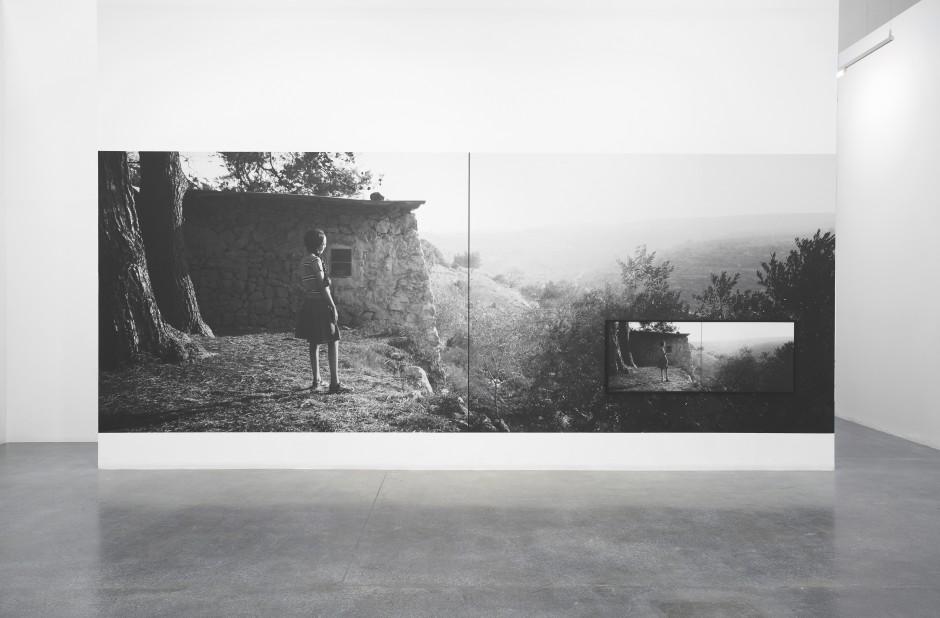 Larissa Sansour AFTER Installation Image, 2019