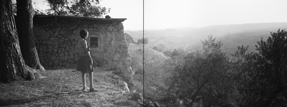 Larissa Sansour/Søren Lind Bethlehem 4, 2019 C-print 60 x 160 cm 23 5/8 x 63 in Edition of 6 plus 3 artist's proofs