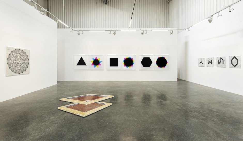 Hamra Abbas Open Cube Installation View, 2019