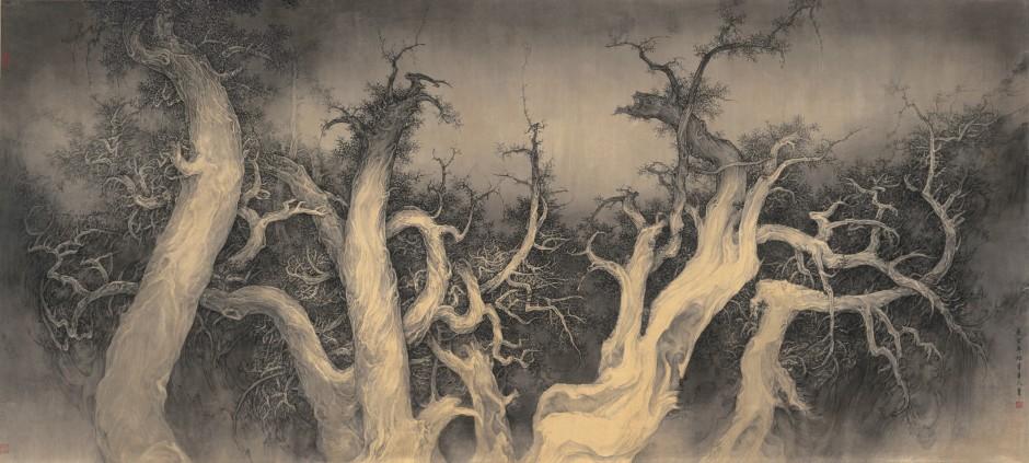 Dancing Cypress Under the Moon, 2010
