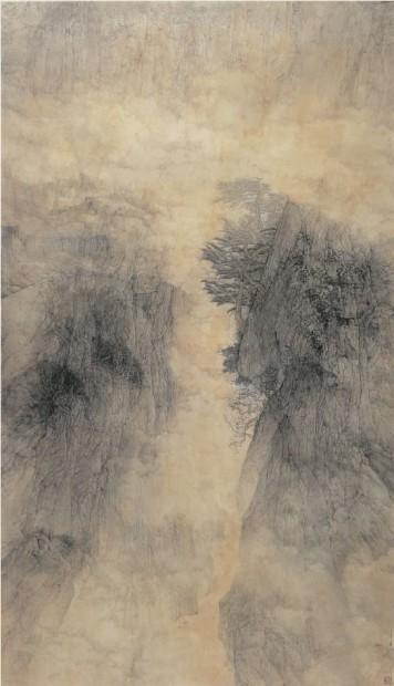 Golden Mist in a Mountain Gorge, 1995