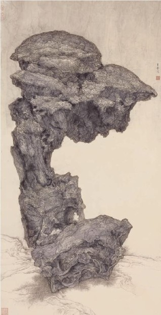 Rock Returned to Landscape 2, 1997