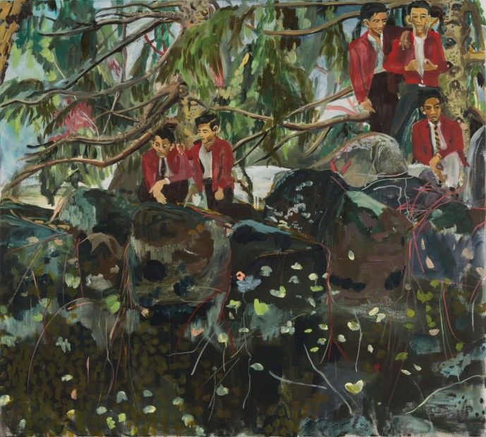 Maia Cruz Palileo, Against Trees, Under the Shade of Thickets, 2016