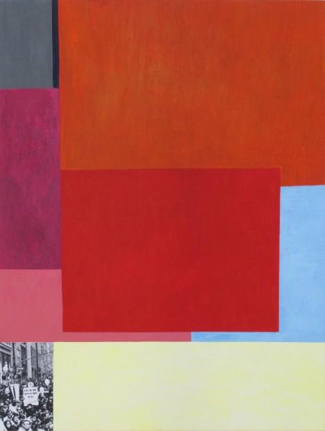 Doug Ashford, Red Day, 1966, #2, 2010