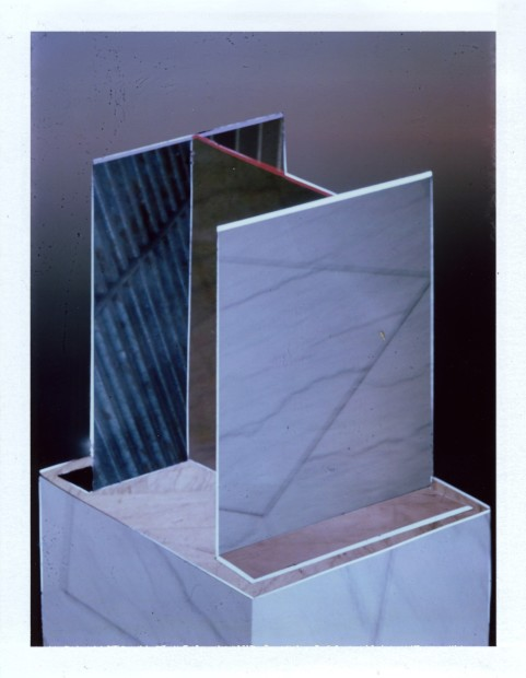 Corey Escoto, It's a Sculpture #2 (Carerra Marble, Tom and Kate, Subway Grate), 2013