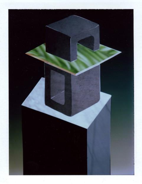 Corey Escoto, It's a Sculpture #4 (Twisted Cinder, Cock Blocker), 2013