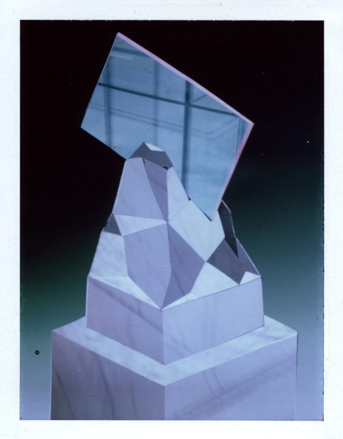 Corey Escoto, It's a Sculpture #3 (Soft Rocks, Cut Muenster), 2014
