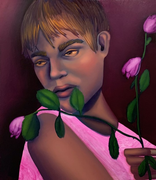 Coady Brown Bloom, 2020 Oil on canvas 61 x 51 cm. / 24 x 20 in.